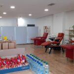 Campaña de donación de sangre en Master Vecindario